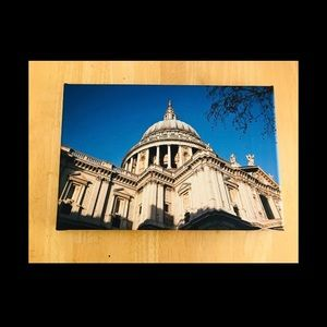 🌼St.Paul's Cathedral London, England Art Print
